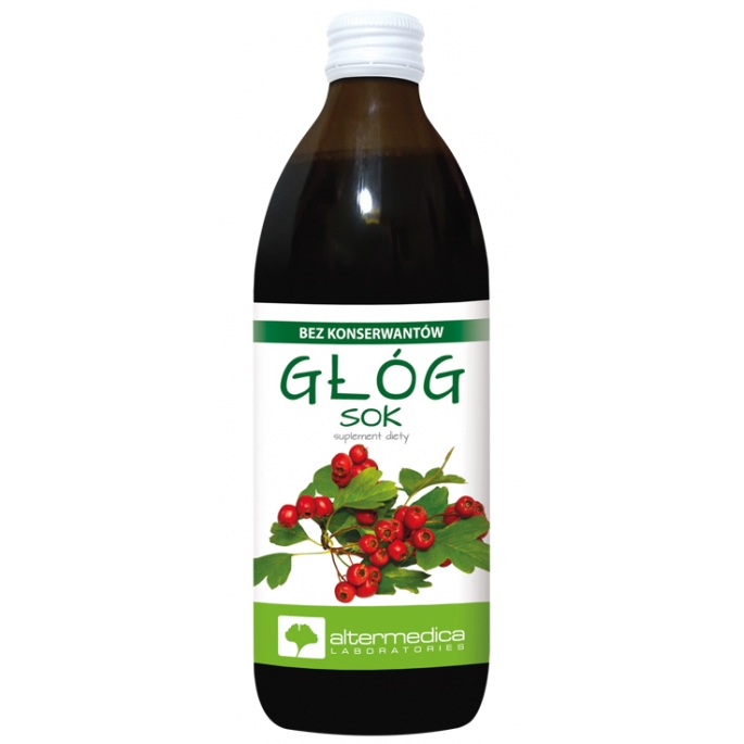 Głóg sok 500 ml. Alter Medica