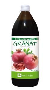 Sok z owoców granatu 1000ml