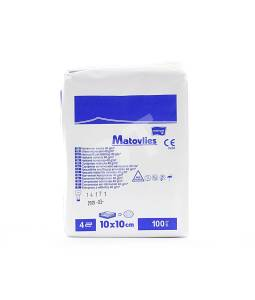 Kompresy z włókniny Matovlies niejałowe 10x10cm 40g 100szt.