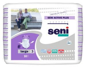 Majtki chłonne Seni Active Plus Large 10szt.