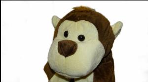 Termofor 0,7L w Pluszowym pokrowcu Małpka