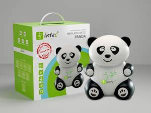 Inhalator Intec Medical Panda kompresowo-tłokowy