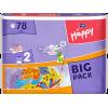 Pieluszki Bella Baby Happy Mini (2) 3-6 kg 78 szt. (Big Pack)