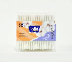 Patyczki higieniczne w pudełeczku Bella Cotton 200 szt.