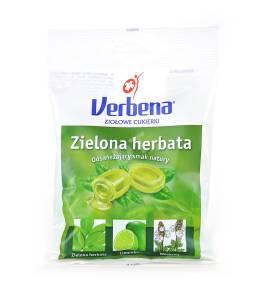 Cukierki ziołowe Verbena zielona herbata 60g